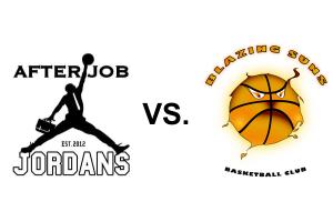 Am 30. November spielten die After Job Jordans gegen die Blazing Suns